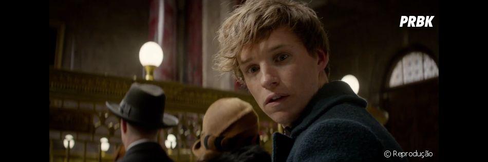 """Várias prévias de """"Animais Fantásticos e Onde Habitam"""", spin-off de """"Harry Potter"""", foram liberadas antes de seu lançamento"""