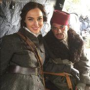 """De """"Mulher-Maravilha"""": Gal Gadot aparece em foto dos bastidores do filme. Confira!"""