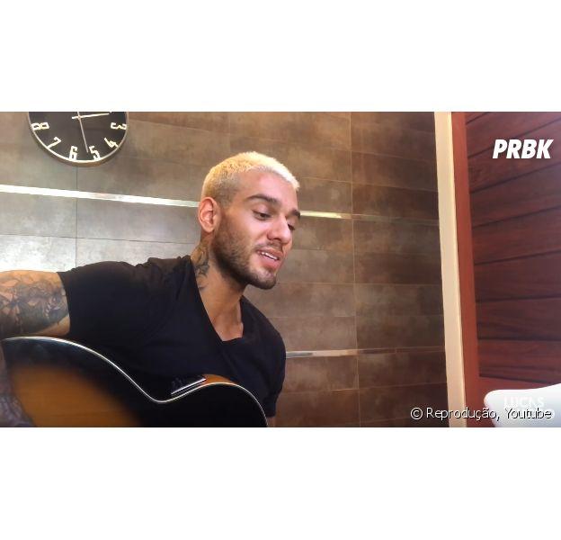 Lucas Lucco lança música em homenagem ao Chapecoense e fãs se emocionam nas redes sociais