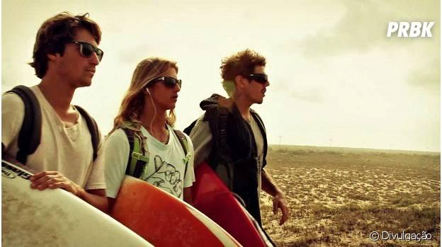 """Em """"A Onda da Vida"""", três amigos partem em uma aventura rumo ao surfe"""