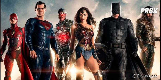 "Filme ""Liga da Justiça"", da DC Comics"