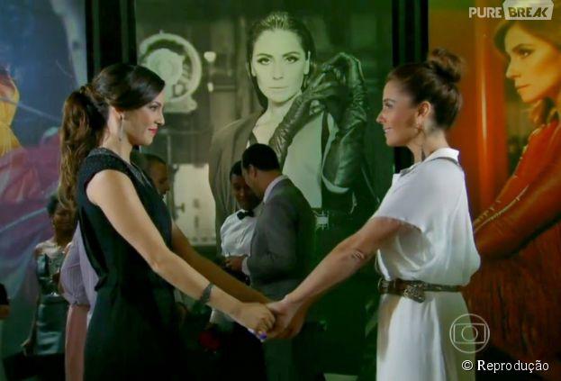 "Na trama de ""Em Família"", Marina (Tainá Müller) vai pressionar Clara (Giovanna Antonelli)"