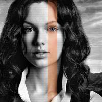 "Taylor Swift surge morena em novo cartaz de ""The Giver"". Veja!"