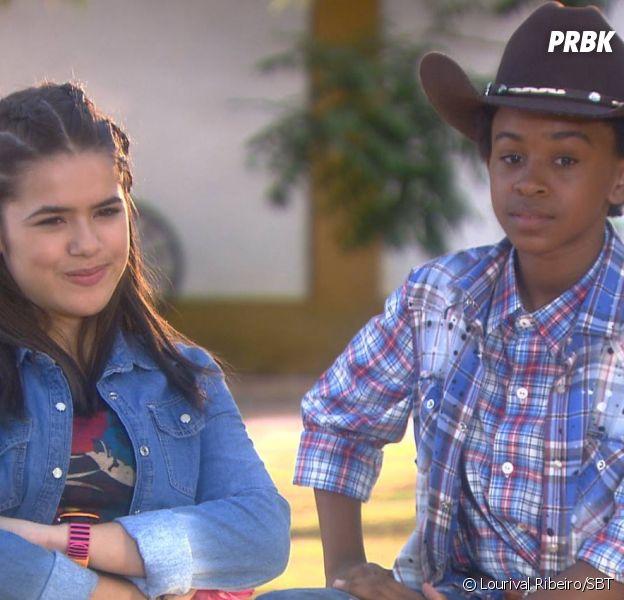 """Em """"Carinha de Anjo"""": Zeca (Jean Paulo Campos) assume que gosta de Juju (Maisa Silva)!"""