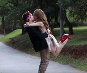 Larissa Manoela e João Guilherme Ávila em vídeo de ensaio de fotos para lá de romântico