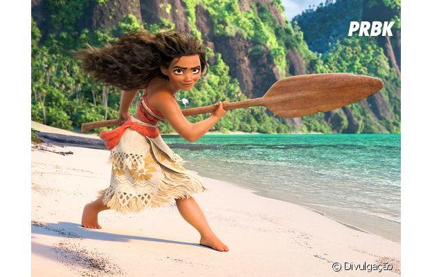 Moana é a mais nova princesa apaixonante da Disney