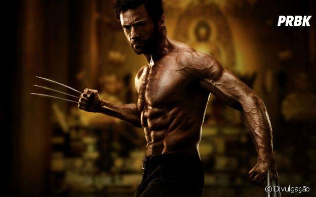 Impossível olhar para Hugh Jackman, sem lembrar do Wolverine, né?