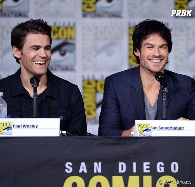 """Ian Somerhalder é o diretor do episódio que marca o retorno da 8ª temporada de """"The Vampire Diaries"""""""
