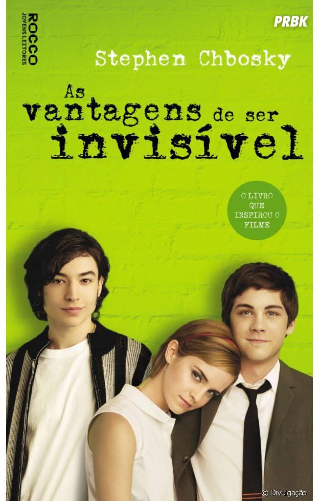 """""""As Vantagens de Ser Invisível"""" é um dos livros mais queridos dos jovens"""