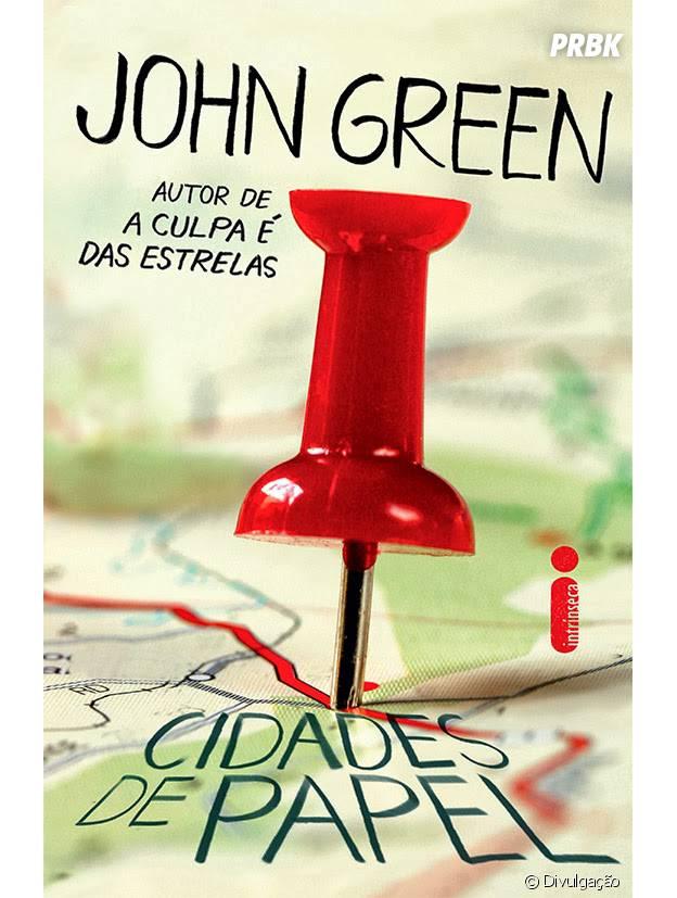 """John Green também vai transformar """"Cidades de Papel"""" em filme"""