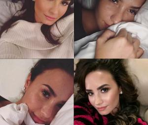 Demi Lovato adora uma foto deitada, hein!