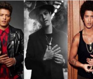 Bruno Mars parece estar querendo tirar um anel preso