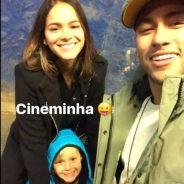 Neymar Jr. leva Bruna Marquezine e filho ao cinema e fãs os shippers surtarem!