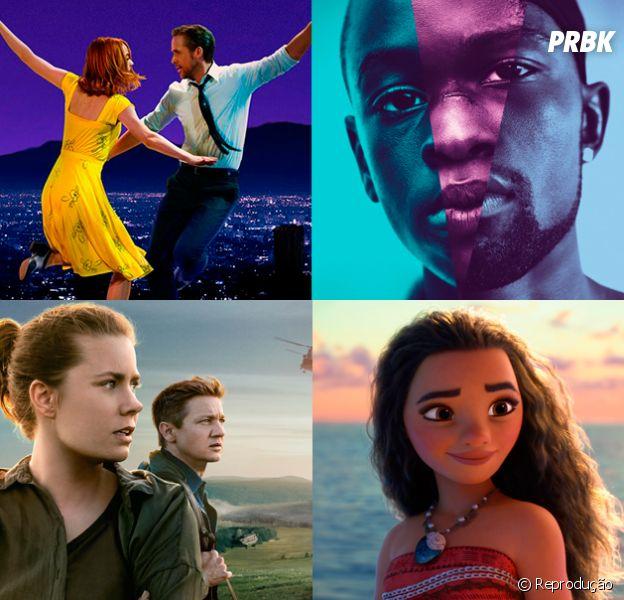 """Oscar 2017: """"La La Land"""", """"Moonlight"""", """"A Chegada"""" e mais, conheça os indicados a premiação"""