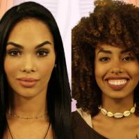 """Do """"BBB17"""": Mayara diz que Gabriela Flor tem que alisar o cabelo e internet não perdoa no Twitter!"""