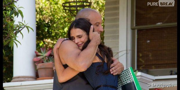"Vin Diesel publicou foto de bastidores de ""Velozes e Furiosos 7"" em seu facebook oficial"