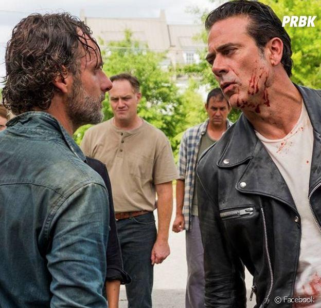 """De """"The Walking Dead"""": Rick (Andrew Lincoln) está se preparando para derrotar Negan (Jeffrey Dean Morgan)"""