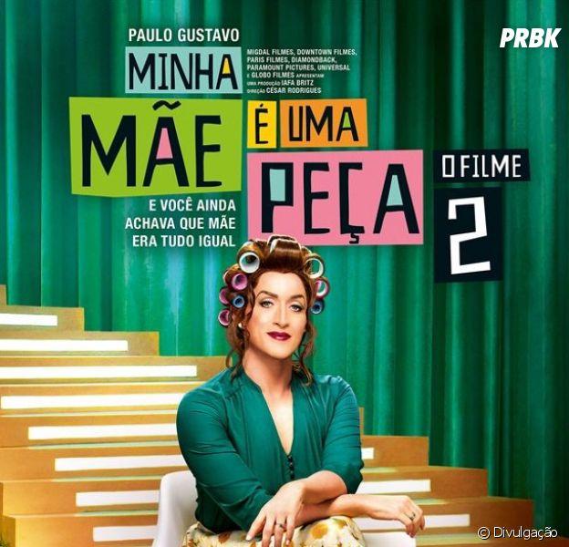 """Filme """"Minha Mãe É Uma Peça 2"""" é recorde de bilheteria no país!"""