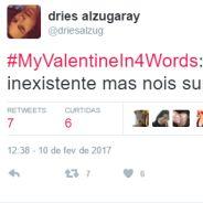 Valentine's Day, o Dia dos Namorados nos EUA, ganha hashtag zoeira #MyValentineIn4Words no Twitter!