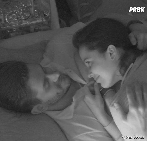 """Do """"BBB17"""": Emilly diz que não quer ficar com Marcos dentro da casa"""