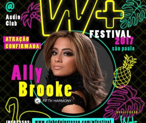 Ally Brooke virá ao Brasil sem o Fifth Harmony!