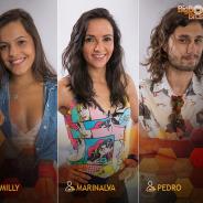 """Do """"BBB17"""": Emilly, Pedro e Marinalva se enfrentam em novo Paredão triplo!"""