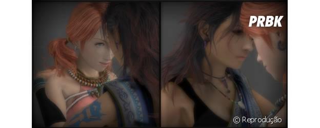 """Um casal polêmico de """"Final Fantasy"""": Fang e Vanille"""