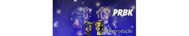 """Um dos casais mais antigos de """"Final Fantasy"""", Locke e Celes"""