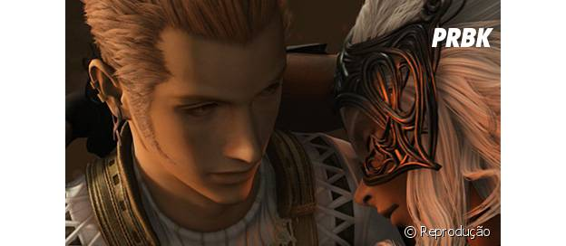 """Balthier e Fran são os apaixonados de """"Final Fantasy XII"""""""