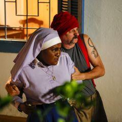 """Novela """"Carinha de Anjo"""": criminosos invadem o colégio e fazem Fabiana (Karin Hills) de refém! OMG!"""
