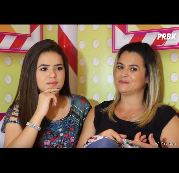 Maisa Silva e sua mãe fazem um vídeo juntas