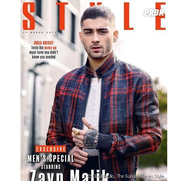Zayn Malik fala sobre novo álbum solo para a revista Style