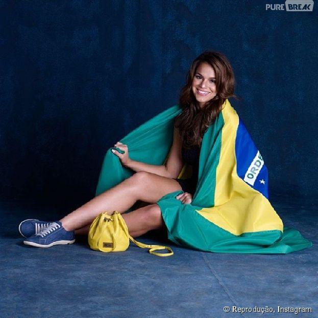 Além de Bruna Marquezine, confira outros famosos que vestiram a camisa para torcer pelo Brasil na Copa do Mundo