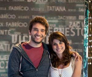 """Humberto Carrão garante que é só alegria com Chandelly Braz nos bastidores de """"Geração Brasil"""": """"Nos divertimos muito em cena e até quando não estamos gravando"""""""