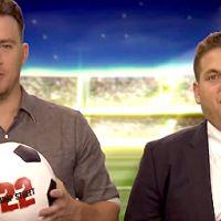"""Channing Tatum e Jonah Hill fazem piadas com Copa do Mundo e """"juízes cegos"""""""