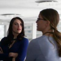 """Série """"Supergirl"""": em vídeo da 2ª temporada, Lena (Katie McGrath) pede a Kara para desmascarar o ex!"""