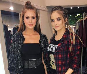 Marina Ruy Barbosa e Giovanna Chaves posam juntas e recebem elogios dos fãs!