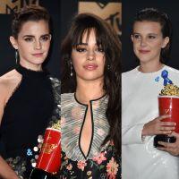 Emma Watson, Camila Cabello, Millie Bobby Brown e mais roubam a cena no MTV Movie & TV Awards 2017