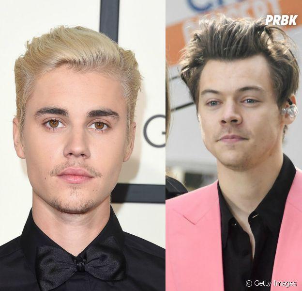 Justin Bieber elogia álbum solo de Harry Styles!