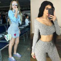 """Larissa Manoela e Kylie Jenner parecidas? Atriz diz que é comparada: """"O bumbum chama atenção"""""""