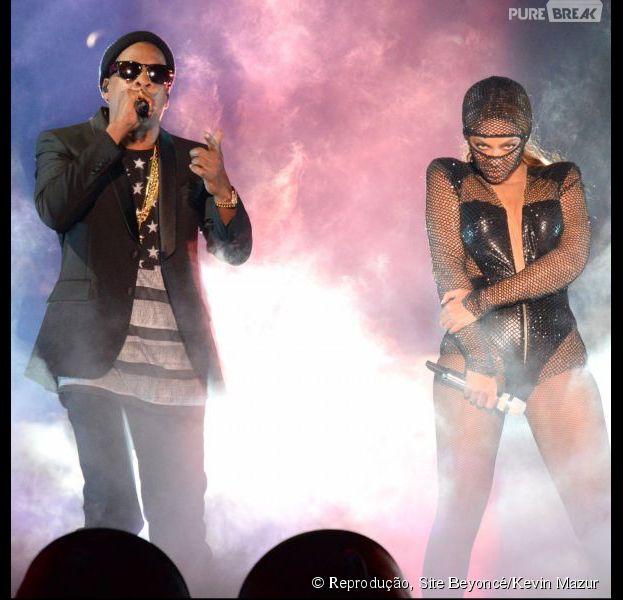 "Beyoncé e Jay Z começaram a ""On The Run Tour"""