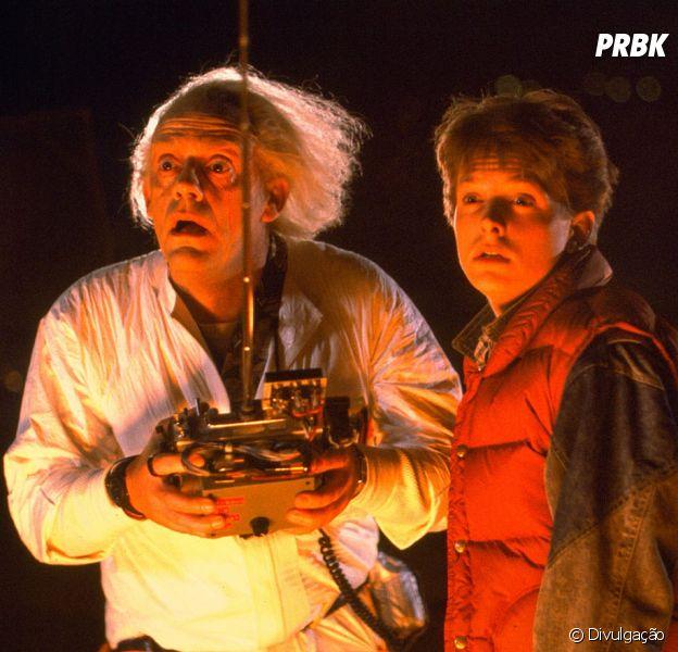 """Michael J. Fox estrela franquia """"De Volta Para o Futuro"""""""