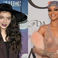 """Lorde declara sua paixão à Rihanna e é só elogios: """"Eu a amo!"""""""