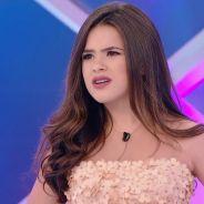 """Maisa Silva participa do """"Programa Silvio Santos"""" e dá fora em Dudu Camargo: """"Não faz o meu tipo"""""""