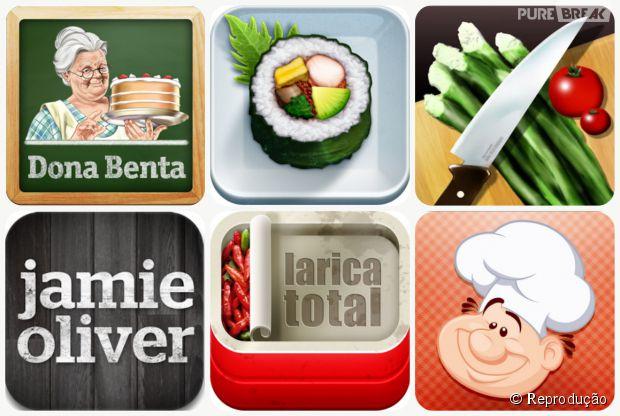 6 aplicativos para fazer diferentes receitas