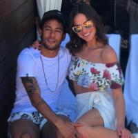 """Neymar mandando indireta para Bruna Marquezine? Publicação misteriosa deixa dúvidas: """"Irrelevante"""""""