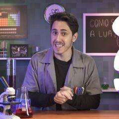 """Felipe Castanhari, do """"Nostalgia"""", estreia quadro de ciência no canal e fãs aprovam: """"Parabéns"""""""
