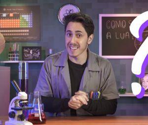 Felipe Castanhari estreia quadro de ciência no canal Nostalgia