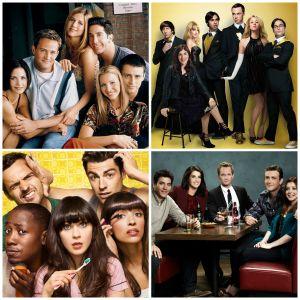"""Dia do Amigo: """"Friends"""", """"How I Met Your Mother"""", """"New Girl"""" e mais séries que falam sobre amizade!"""