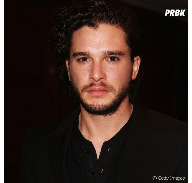 "Kit Harington faz o Jon Snow em ""Game of Thrones"""